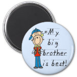Little Brother T-shirts and Gifts Magnet