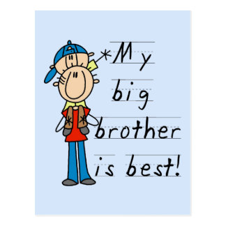 Little Brother T-shirts and Gifts Post Cards