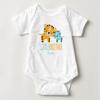 Little Brother Tiger Baby Bodysuit