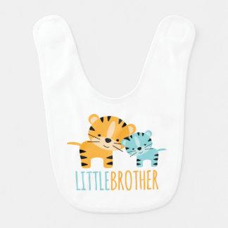 Little Brother Tigers Bib