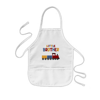 Little Brother Train Kids' Apron