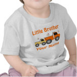 Little Brother Truck Personalised T-shirt