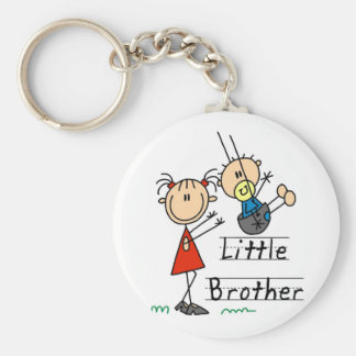 Little Brother with Big Sister Tshirts Key Ring