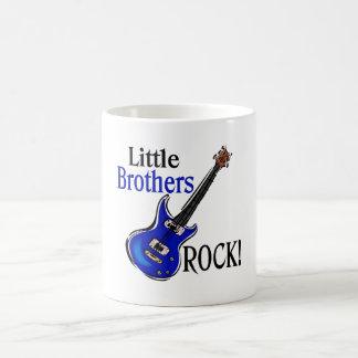 Little Brothers Rock! Basic White Mug