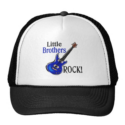 Little Brothers Rock! Cap
