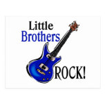 Little Brothers Rock! Postcard