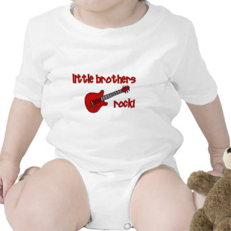 Little Brothers Rock!   with Guitar Shirt