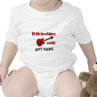 Little Brothers Rock!   with Guitar T Shirt