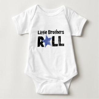 Little Brothers Roll Baby Bodysuit