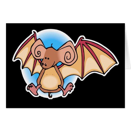 Little Brown Bat Card