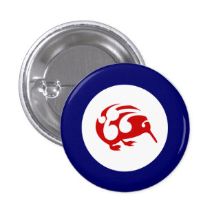 Little Brown KIWI badge Pins