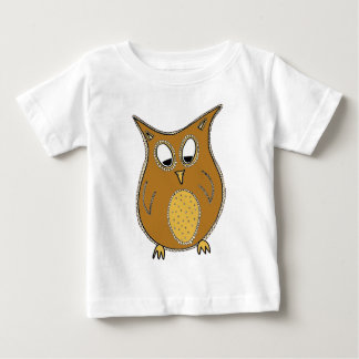 Little Brown Owl Baby Shirt
