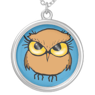 Little Brown Owl Necklace