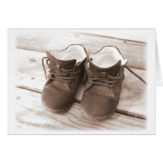 Little Brown Shoes Card