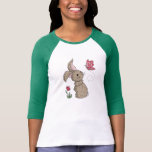 Little Brown Spring Bunny T-shirts