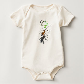 """Little Bug"" Eco Baby Bodysuit"