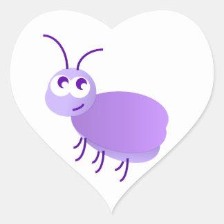 Little Bug Heart Sticker