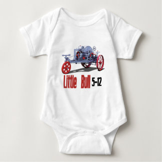 Little Bull Tractor Baby Bodysuit