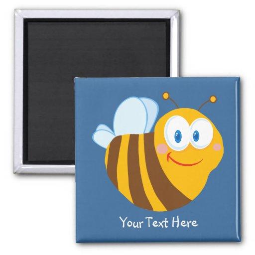 Little Bumblebee (personalized) Fridge Magnets