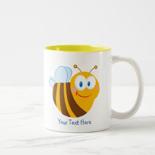 Little Bumblebee (personalized) Coffee Mugs