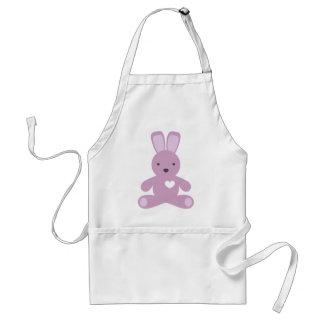 Little Bunny in Purple Standard Apron