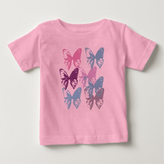 Little butterflies tshirt for baby