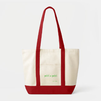 Little by Little tote bag