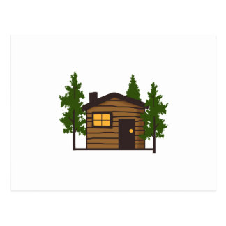 Little Cabin Postcard