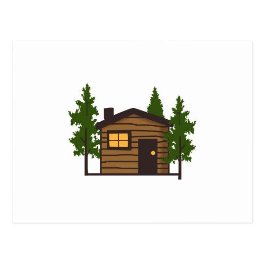 Little Cabin Postcard