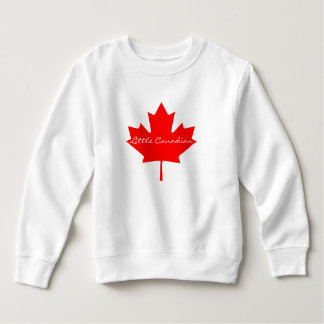 Little Canadian Canada toddler sweater