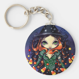 """Little Candy Witch"" Keychain"