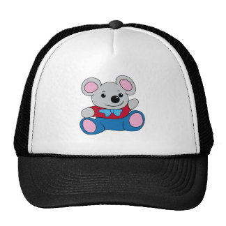 Little Cartoon Mouse Mesh Hats