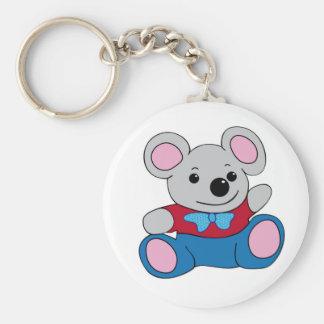 Little Cartoon Mouse Keychains