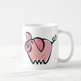 Little cartoon Pink Piggie Coffee Mug