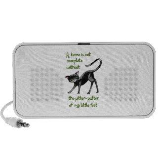 LITTLE CAT FEET iPod SPEAKERS