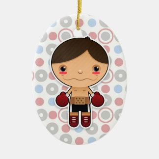 Little Champ - Ornament - Boy