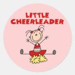Little Cheerleader T-shirts and Gifts Round Sticker