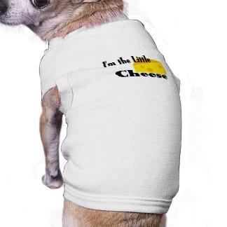 Little Cheese Sleeveless Dog Shirt