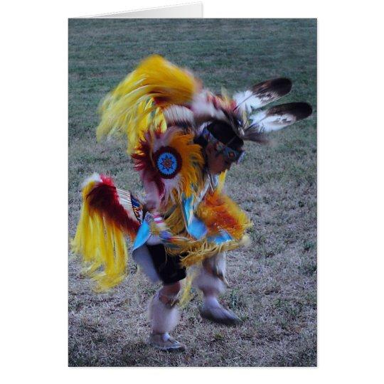 Little Cherokee Dancer Card