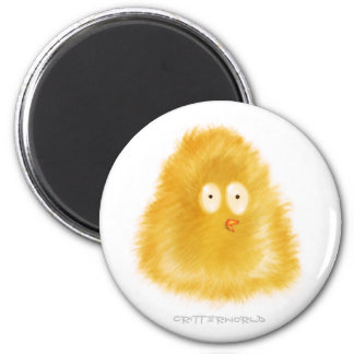 Little Chick Critter 6 Cm Round Magnet