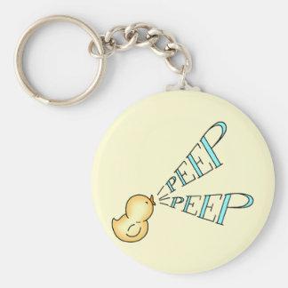 Little Chick says, Peep Peep Keychain