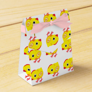 little chicken favour box