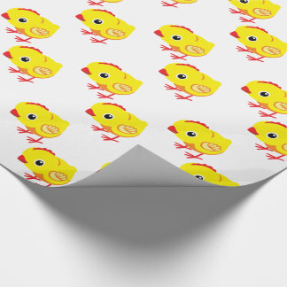 little chicken wrapping paper