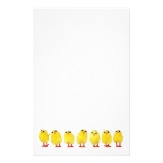 Little Chicks Stationery
