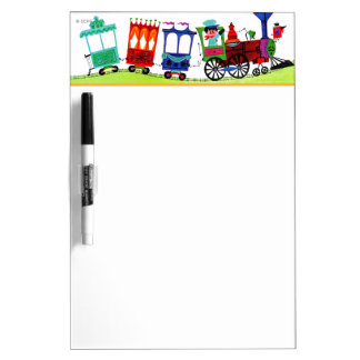 Little Choo Choo Dry Erase Board