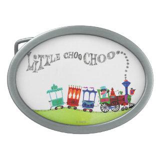 Little Choo Choo Oval Belt Buckles