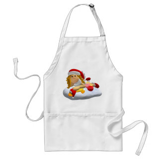 Little Christmas Angel Adult Apron