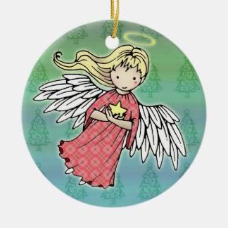 Little Christmas Angel Ornament