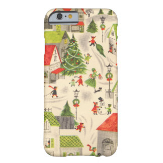 Little Christmas Village Barely There iPhone 6 Case