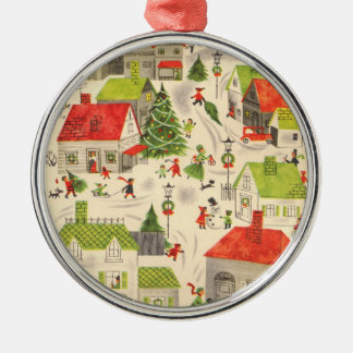 Little Christmas Village Christmas Ornament